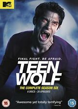 Teen Wolf: The Complete Season 6 (DVD) Six