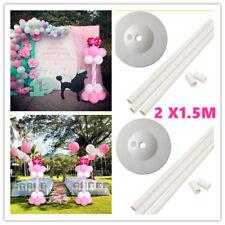 Column Base Stand Balloon Arch Column Base Wedding Birthday Party Decorat 2X1.5M