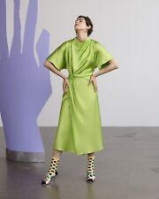 Rhode Maxi Dress Stine Goya Lime Green Size XS