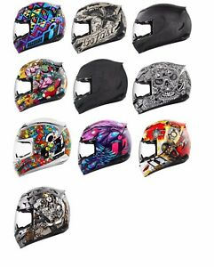 *SHIPS SAME DAY* ICON Airmada (All Graphics) Motorcycle Helmet FULL FACE