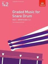 ABRSM Graded Music for Snare Drum (Grades 1-2) Book 1 - Same Day P+P