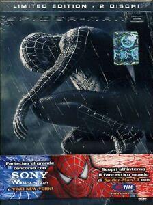 SPIDER-MAN 3 LIMITED EDITION 2 DVD + BOOK COPIA 2656 DI 3000 NUOVO CELLOPHANATO
