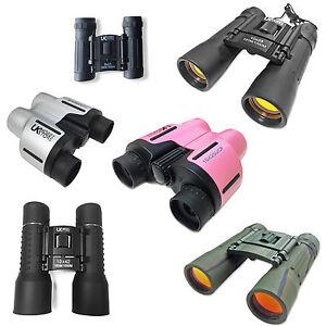 Choice of High Quality Binoculars Black Silver Pink 8x21 10x25 or 10x42 UK