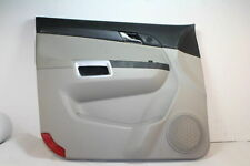 GM OEM SATURN VUE 2008-2009 FRONT DRIVER DOOR PANEL TRIM ASSEMBLY WITH SWITCHES