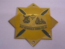 Emailplakette M.S.C. Rheindahlen-Broich-Peel e.V. DMV: Emaille-Plakette