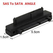 Ángulo de 90 grados SFF-848 SAS 22 Pines a 7 pines + 15 Pin Adaptador De Disco Duro HDD SATA