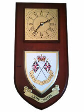 Army Careers Regimental Military Wall Plaque & Clock Mess Shield