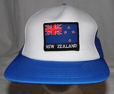 Vintage New Zealand Patch On Awesome Snapback Hat Cap Deadstock