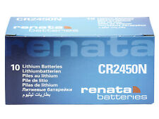 10 x Renata CR2450N 3V Pila Batteria Cell Coin replace CR BR DL ECR KCR ML 2450N