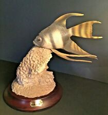 Common Angel Fish Handcrafted / Autographed Sculpture Nautical Tropical
