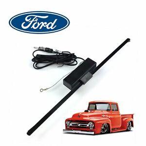 Ford F1 Truck 1948-52 Hidden Amplified Radio Antenna FM Stereo stake big job 226