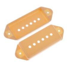 2pcs P90 Humbucker Pickup Cover für Gitarre, Brücke E zu E, 50mm
