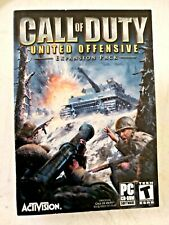 Call of Duty Activision United Offensive PC Game 2003-2004 - MIB Factory Sealed