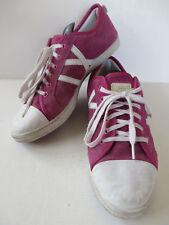 CATWALK ° bequeme SNEAKERS Gr 41 pink Leder Damen Schuhe Halbschuhe Schnürschuhe