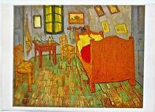 Van Gogh Poster Reprint  The Bedroom at Arles Offset Lithograph  16x11