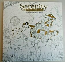 Serenity Firefly Class 03-K64 Adult Coloring Book- New- By Dark Horse Books