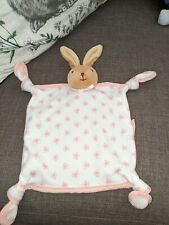 kaloo girls bunny rabbit baby comforter blankie soother soft toy pink Dou dou