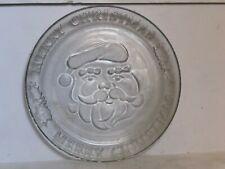 "Studio Nova Magical Eve Heavy Clear Glass Christmas Platter 15/"""