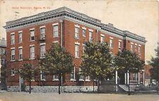 D68/ Elkins West Virginia WV Postcard 1916 Hotel Randolph Building