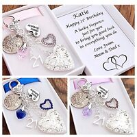 16th 18th 21st 30th 40th 50th BIRTHDAY GIFT 60th 70th LOCKET LUCKY SIXPENCE