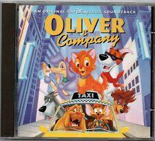 Oliver & Company - Walt Disney Soundtrack CD 1997 Album
