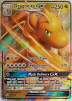 Dragonite GX 152/236 - Sun and Moon- Unified Minds- EN Mint