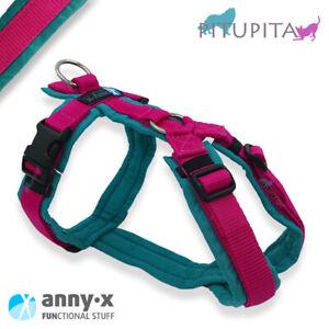 AnnyX Brustgeschirr Fun Sonderfarbe petrol pink anny-x Hundegeschirr