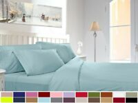 2 PACK: 820 DELUXE DEEP POCKET 4 PIECE BED SHEET SETS