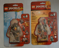 LEGO Ninjago 2-Packs 40342 & 40374 Golden Zane Accessory Set (Sealed)