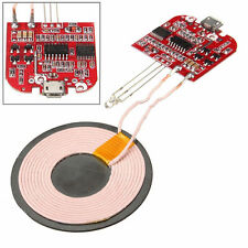 2A Qi Wireless Charger PCBA Circuit Board With Coil Wireless Charging DIY 2017