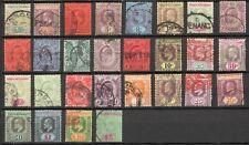 Malaya, Straits Settlements KEVII selection 1900's