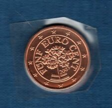 Pièces euro pour 5 Euro année 2003