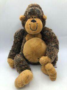 Official Gund Garstang 31058 Brown Monkey Ape Chimp Plush Stuffed Toy Animal
