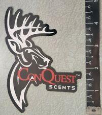 Conquest Scents Vinyl Decal Sticker OEM Original Shot Show Deer Hunting