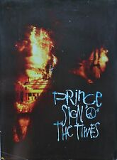 """PRINCE """"SIGN """"O"""" THE TIMES"""" U.S. PROMO POSTER - Prince With Music Instruments"""