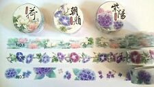 Japanese Masking Tape Washi Paper Tape Flower No.3 Scrapbook DIY