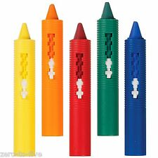 Munchkin 5 X Bath Time Crayons - Baby and Toddler Bath Fun - Draw on Tiles
