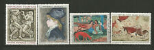 France 1968 oeuvres d'art 4 timbres neufs /T6967