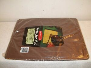Vtg 1975 Unopened Rubbermaid Brown Protector Mat For Counters Stove Top 13x17