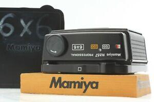 [Exc+++++] Mamiya RZ67 Pro 120 220 6x6 Roll Film Back Holder From JAPAN 1029