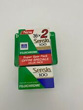 Lot 3x Fujifilm Fujichrome Super Fine Grain Sensia 100 ISO 36 exp - Expired 1996