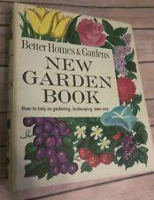 VINTAGE 1966 BETTER HOMES AND GARDENS NEW GARDEN BOOK 5 ring binder