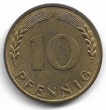 Germany 10 Pfennig Coin - 1950 MUST L@@K !!