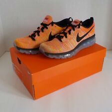 Nike FLYKNIT MAX Running Shoes HOT PUNCH 620659 406 WOMAN 8.5 Fast Ship NIB $225