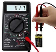 7 Fn Digital Multimeter Ac Dc Voltage Volt 10 Amp Current Resistance Ohm Tester