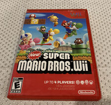 New Super Mario Bros Wii Nintendo Wii Game No Manual Tested B2
