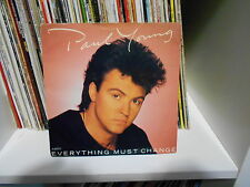 """PAUL YOUNG """"EVERYTHING MUST CHANGE"""" 7""""  MADE IN UK   PERFECT"""