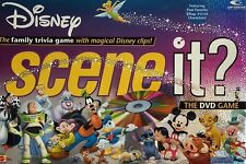 Disney Scene It The DVD Game 1st Edition 2004 Mattel Pixar Characters New