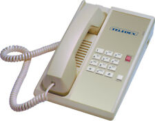 TLD-ASH DIA65309 Single-Line Guestroom Telephone by Teledex