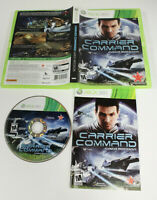 XBox 360 Carrier Command Gaea Mission Video Game (PreOwned Cleaned) Complete